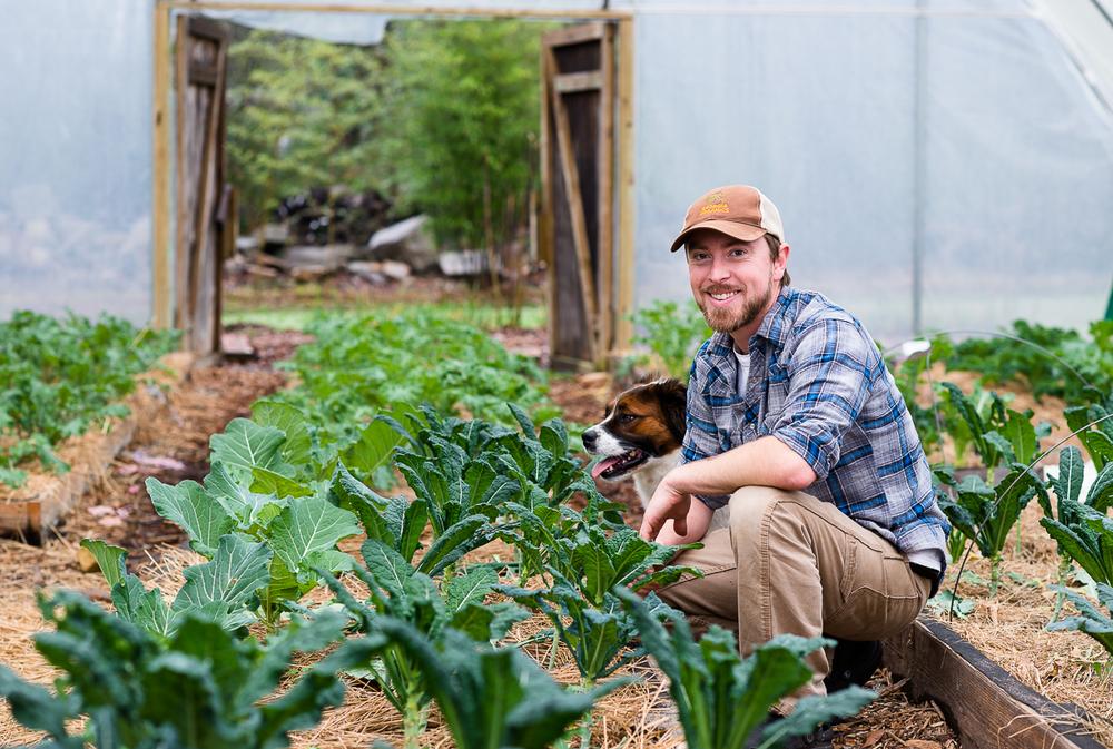 Farm Manager, Jim Fraser