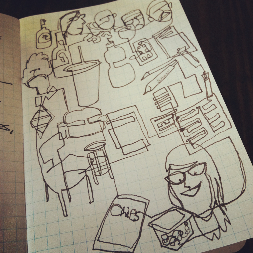 Meeting lunchdoodle