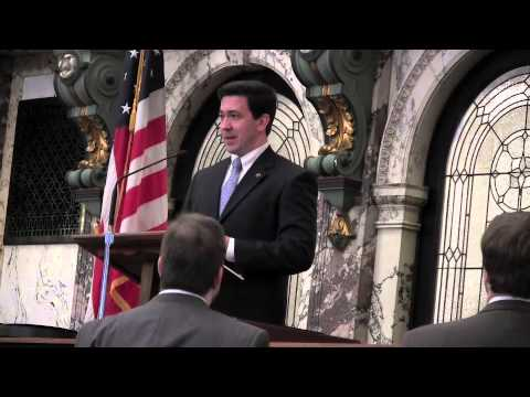 Billy Jack McDaniel opens in prayer for Miss. State Senate   Video (2012)
