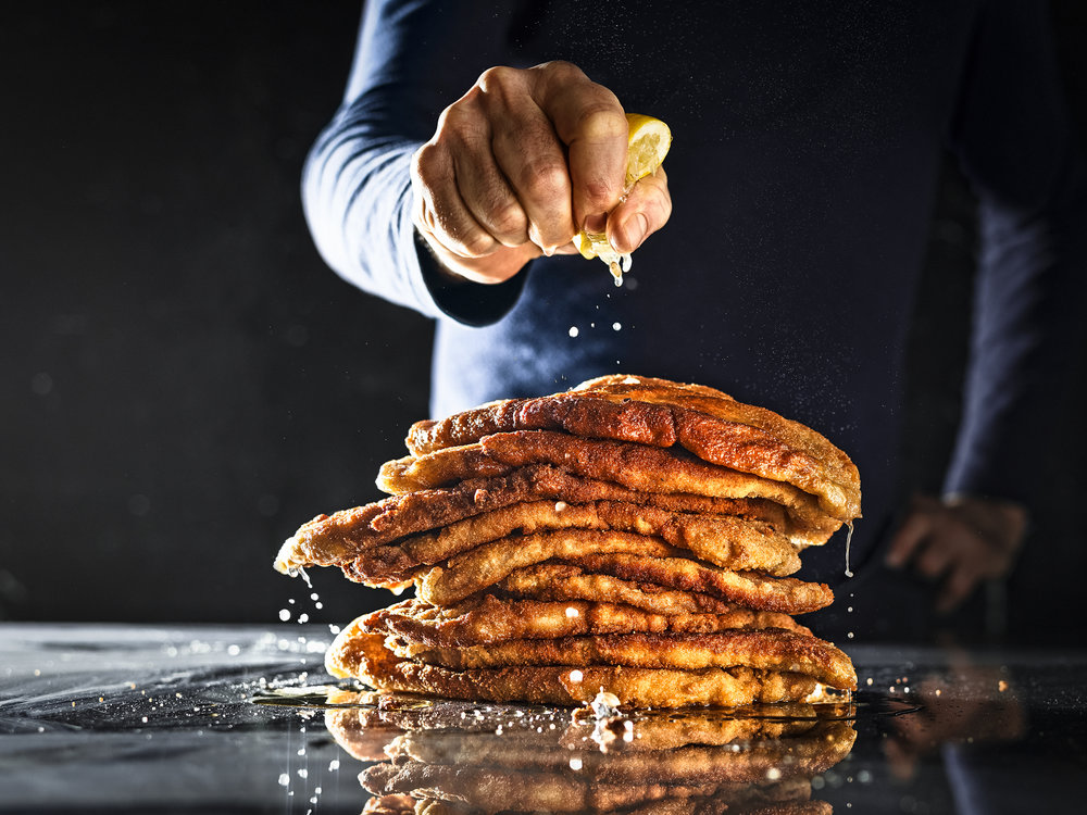 "Winning Image: ""Schnitzelberg"" for BEEF! Magazine. Foodstyling: Adam Koor"