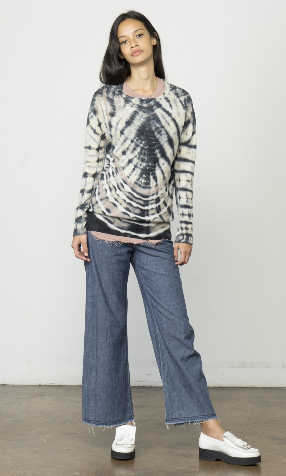y63-6336-blkdsh_Black_Dashiki_Cashmere_Shred_Shoulder_PulloverDSC06860.jpg