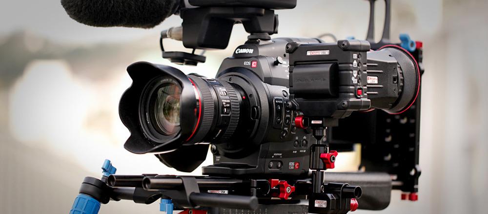 Canon C100 (Res:HD) Super 35mm
