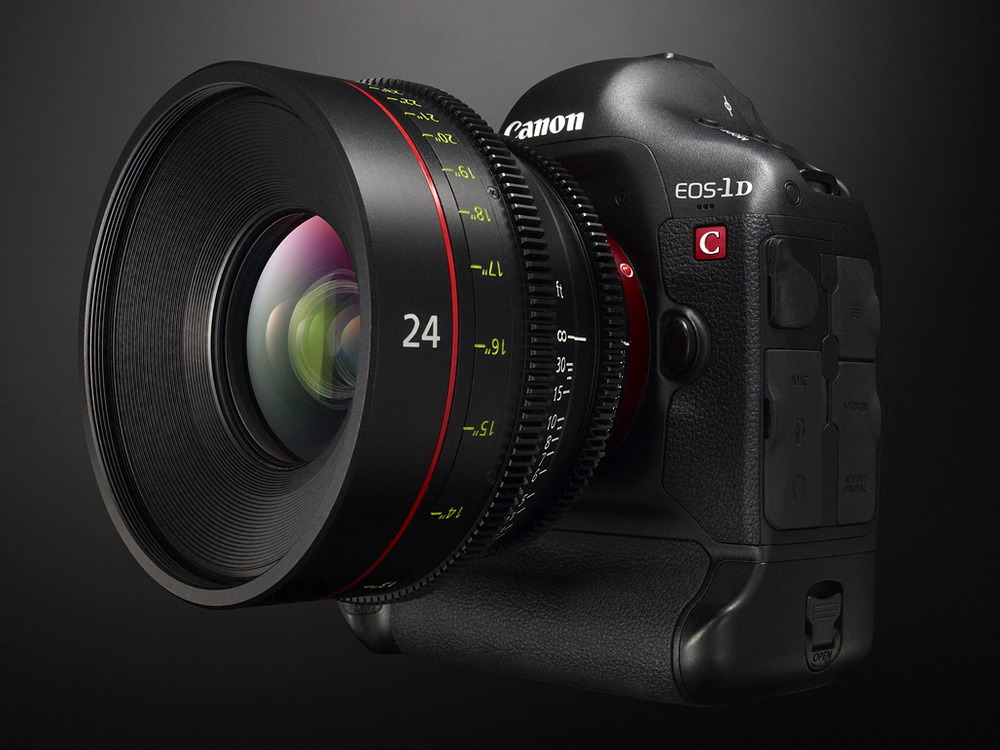 Canon 1 DC ( Res:4k)
