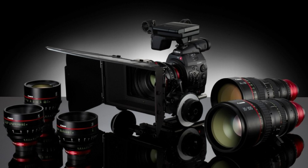 Canon C300 with 5 Lents (Res: Full HD )