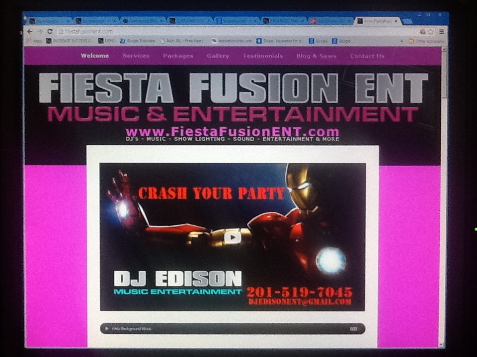 Fiesta Fusion ENT  Web FiestaFusionENT.com