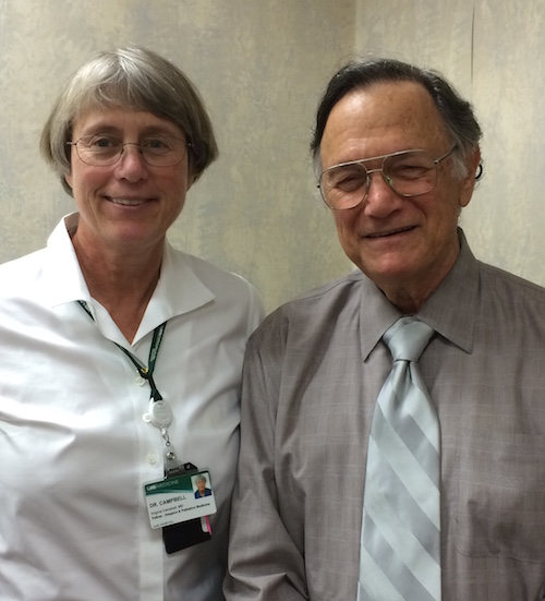 Ginger Campbell, Md and Edward Taub, Phd (click image to play audio)