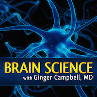 New logo for Brain Science with Ginger Campbell, MD
