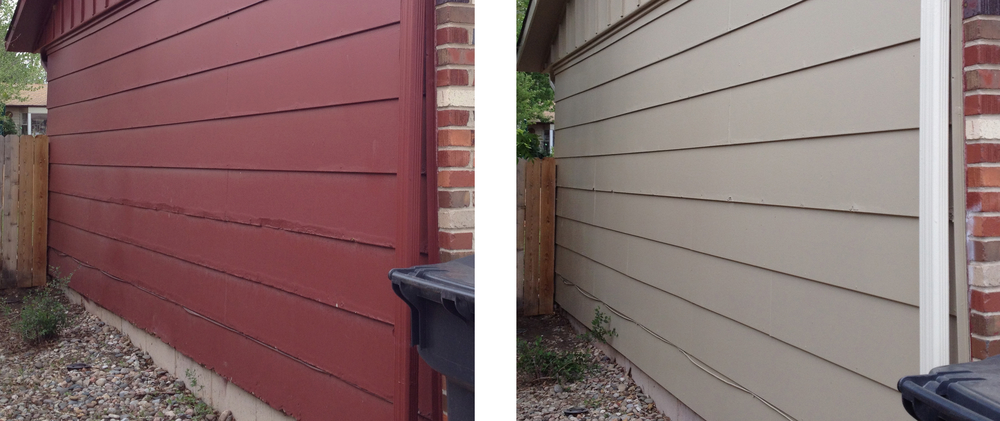 Siding can be damaged by exposure to water, sun, hail and wildlife. In some cases, we can easily repair the damage; other times, we may need to replace the more damaged pieces of siding.