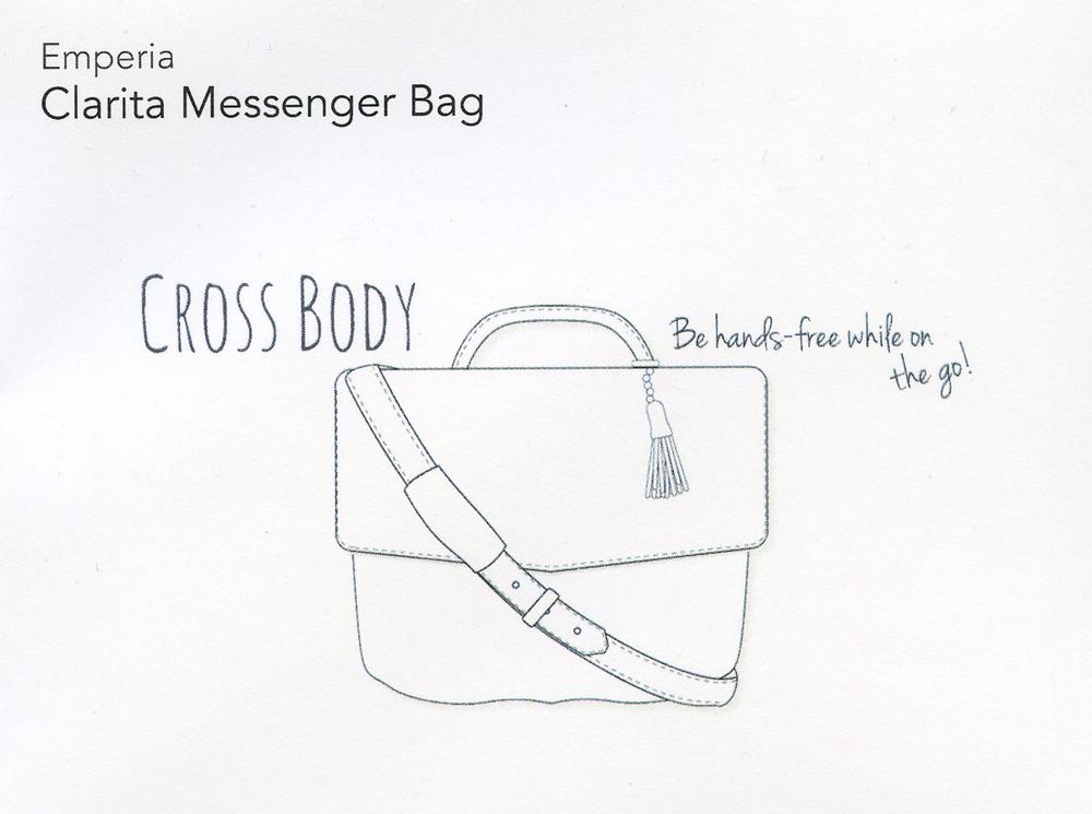 Stitch Fix- Clarita Messenger Bag
