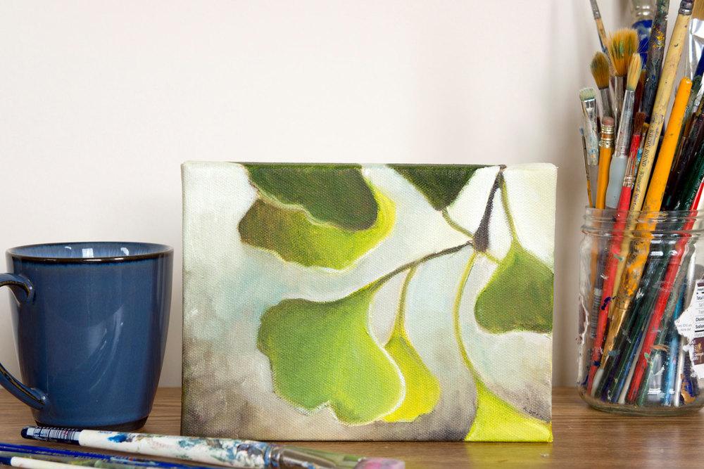Ginko Painting