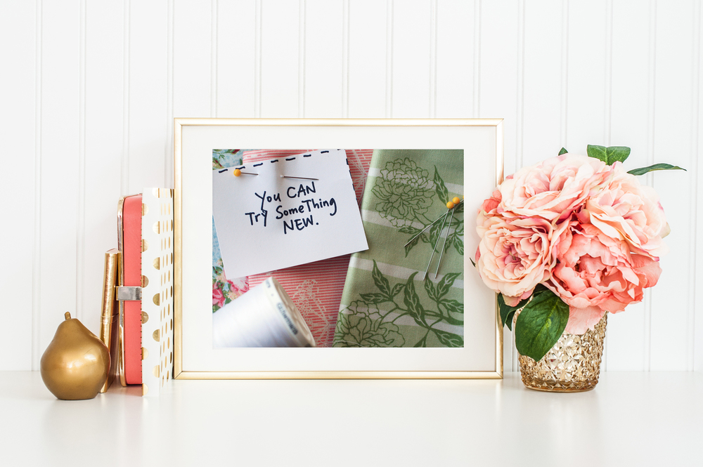 You CAN Try Something New FREE Printable from April Bern Photography