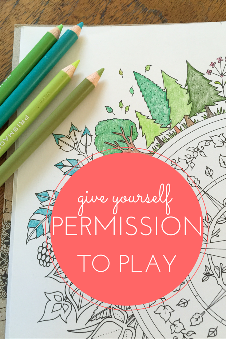 Permission to Play by aprilbern.com