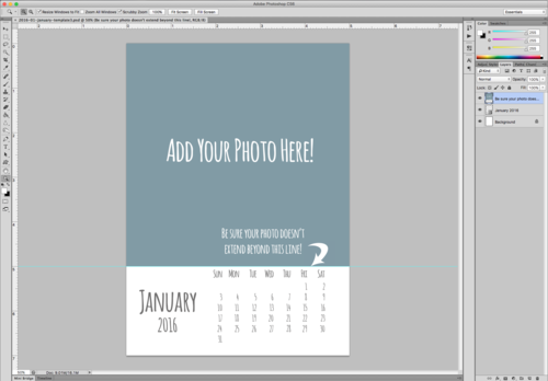 How To Use My 2016 Calendar Templates April Bern