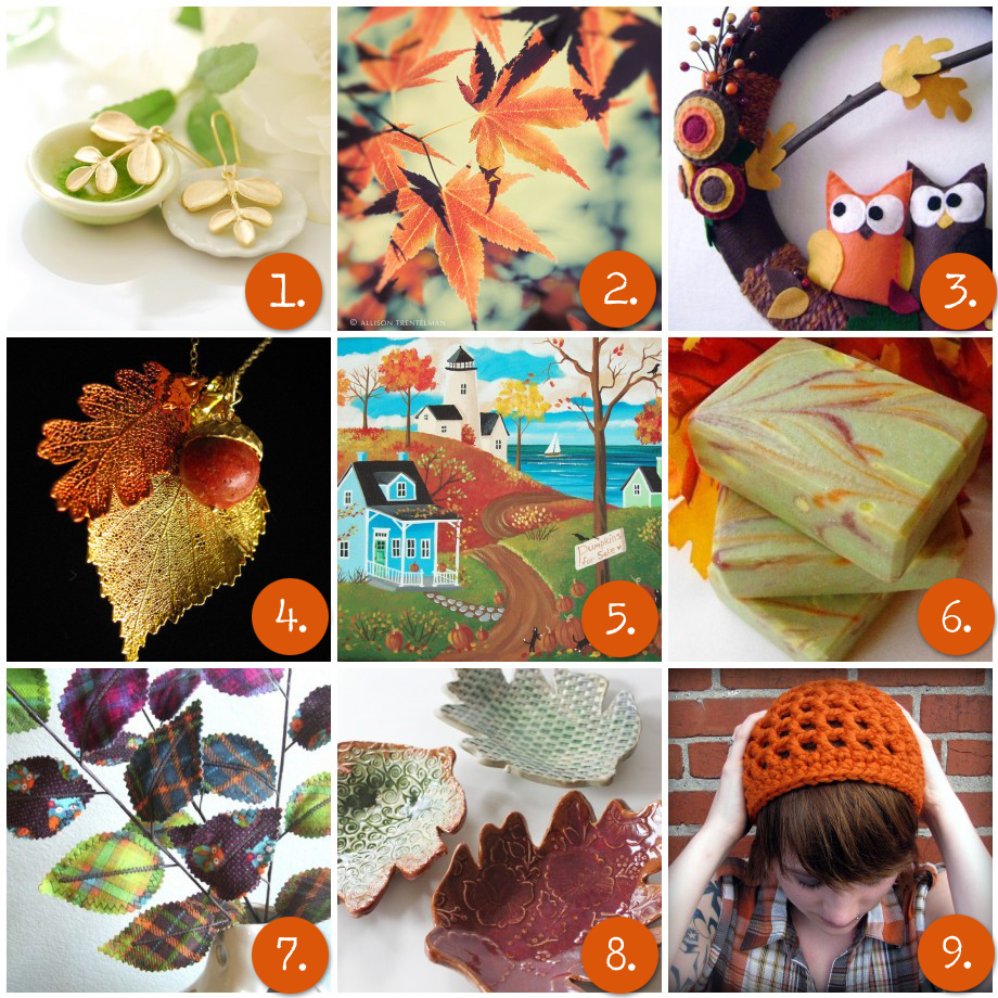 Autumn Leaves Inspiration