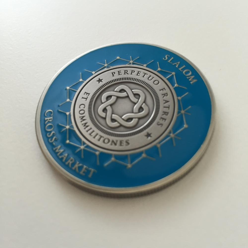 Slalom Cross-market coin front