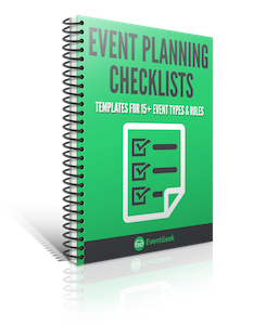 Event planning checklists