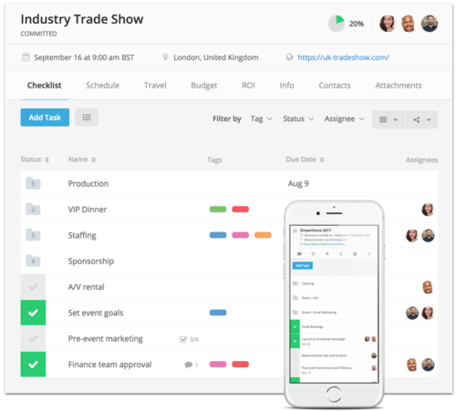 For Trade Show Exhibitors - Car show management software