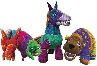 the Viva Piñata piñatas.