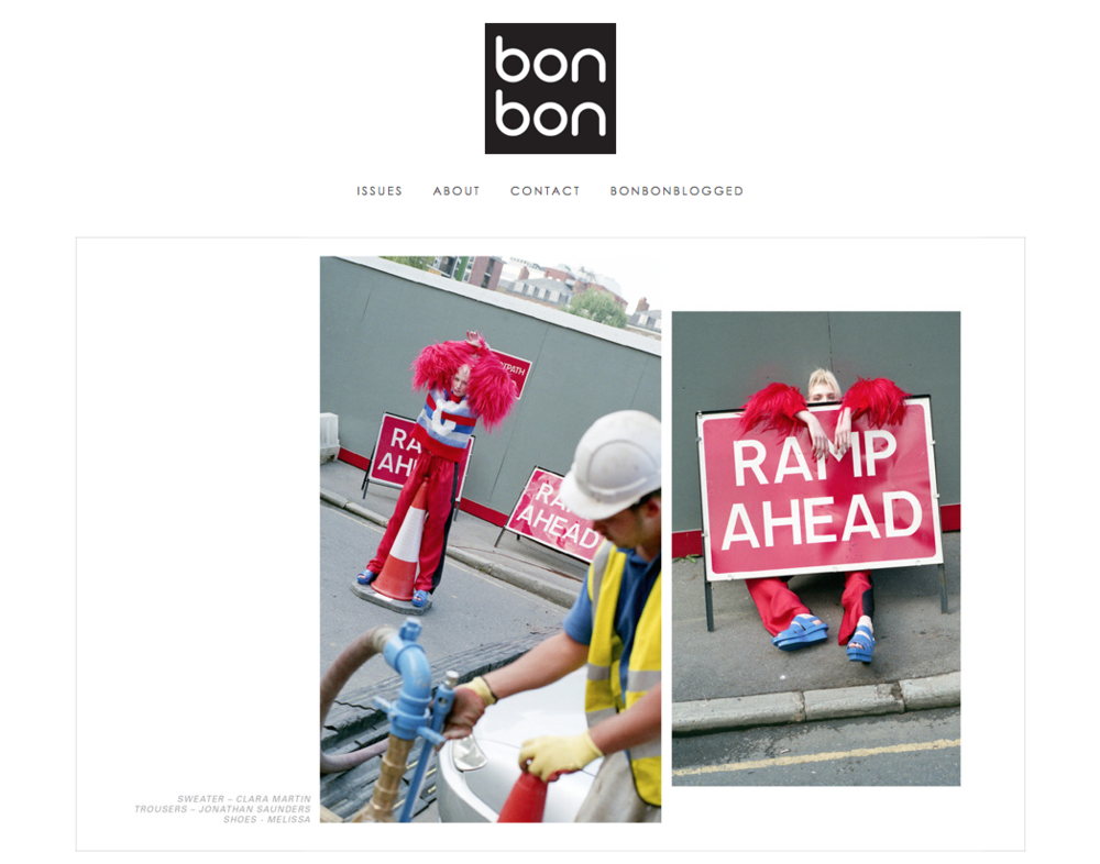 BON BON MAGAZINE ISSUE 5 FEATURE: CLARA MARTIN