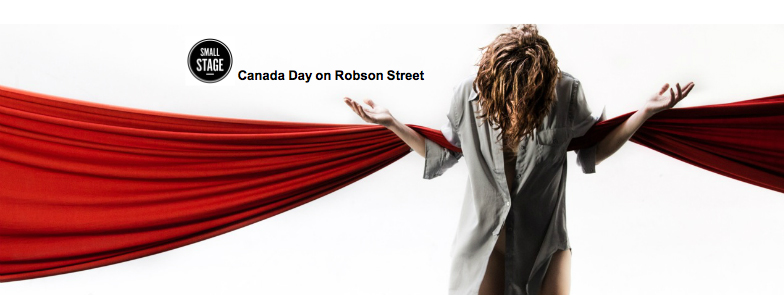 Come join us on Robson Street for Canada Day!