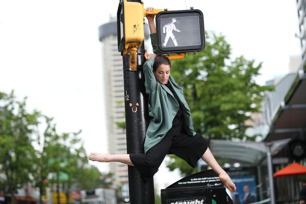 dancer: Megan Hunter photo: Karolina Turek