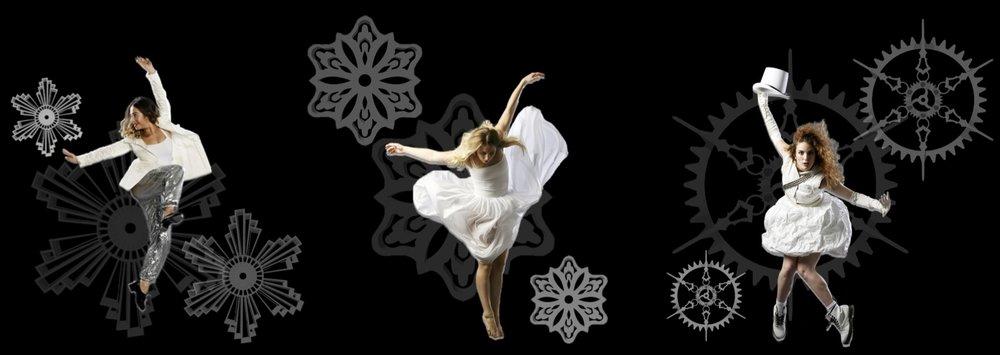 DANCERS: Alex Clancey, Devan Genereux, Hannah Henney