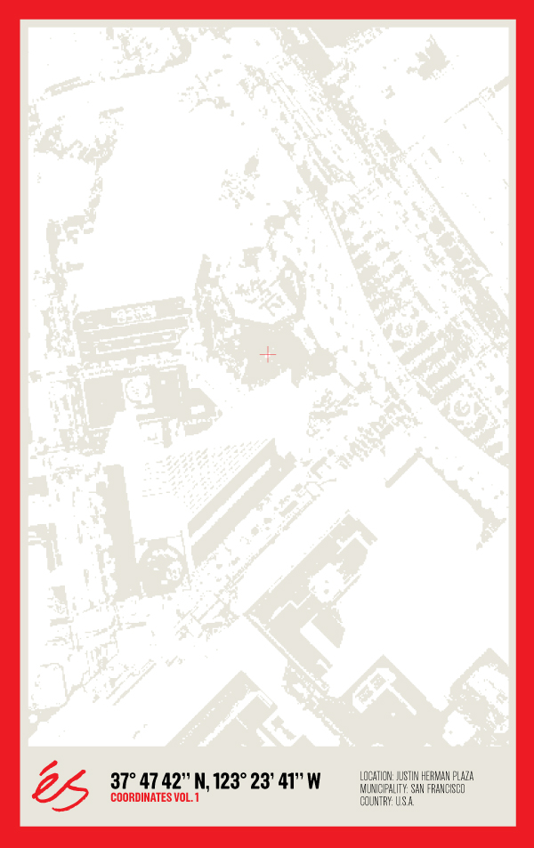 Justin Herman Plaza coordinates