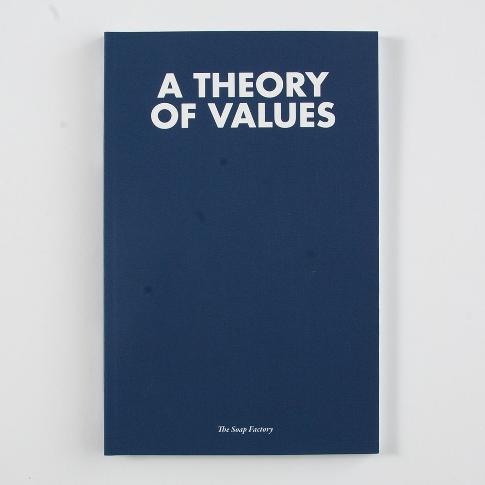 A Theory of Values  exhibition catalog