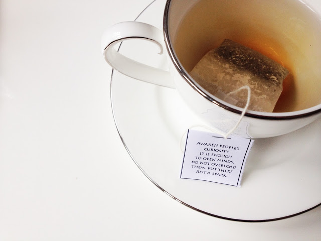 DIY :: Inspirational Tea Bags for Teacher's Day — Scissors ... Creativity Quotes And Sayings