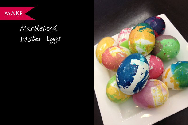 marbleized easter eggs singapore diy craft tutorial