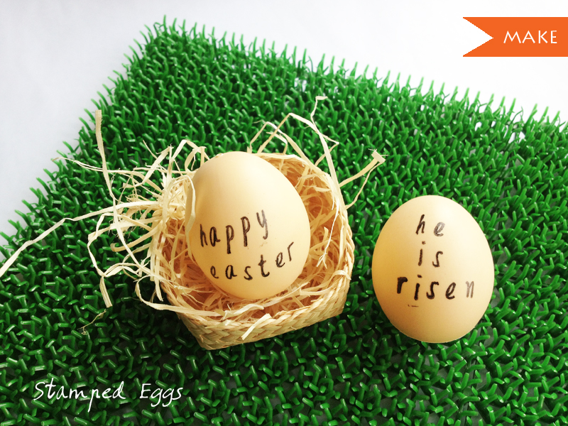 stamped eggs diy craft singapore