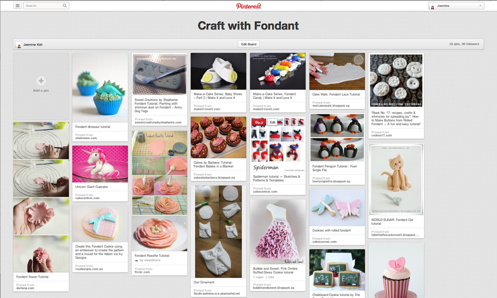 pinterest fondant diy craft ideas blog singapore