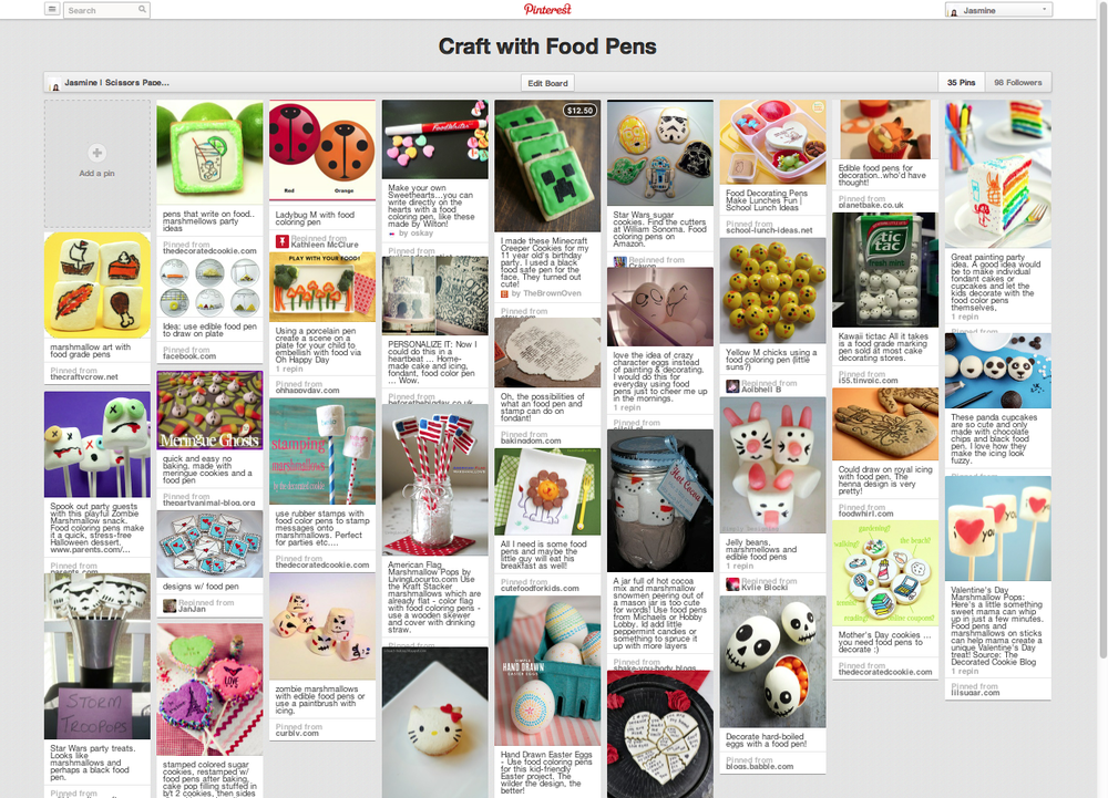 craft with food pens singapore secrets supplies