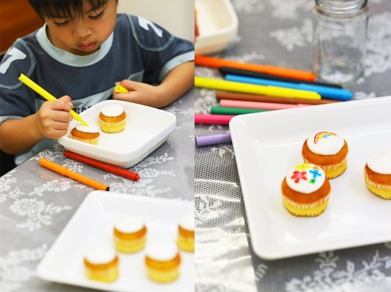 decorate cupcakes diy craft singapore kids creativity creative
