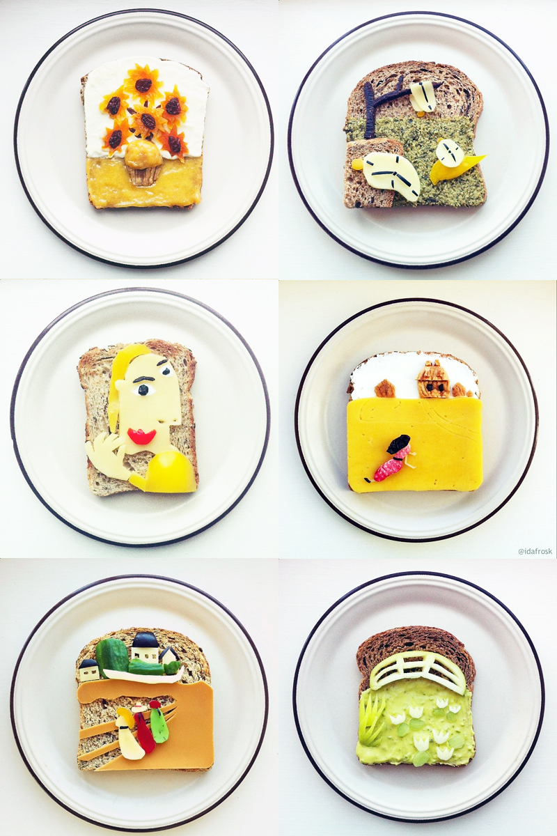 toast art project by idafrosk creativity spotlight singapore