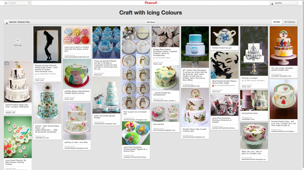 pinterest icing colour colours wilton gel singapore baking supplies secrets cake decorating