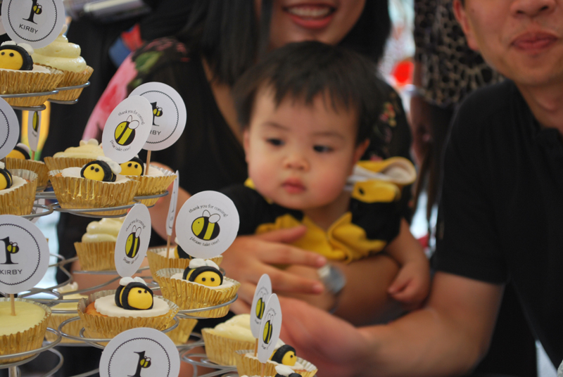 fondant bee diy tutorial birthday singapore