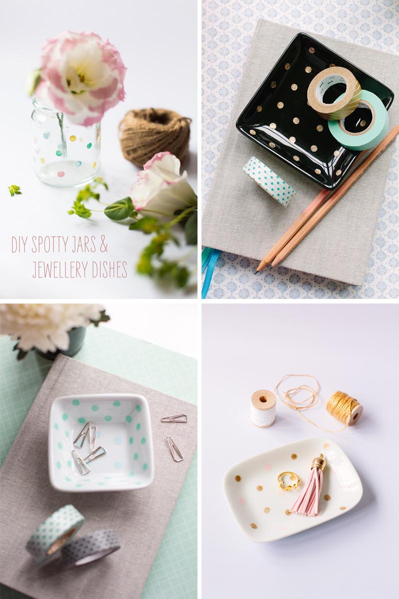 Spotty Vase & Jewellery Dish | Scissors Paper Stone blog (Jasmine Koh)
