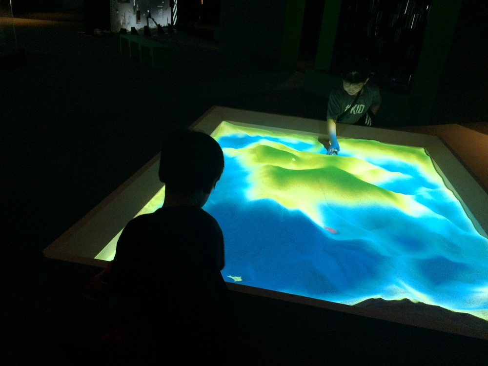 Sandbox Ocean - create a river that meanders around self-designed seabeds
