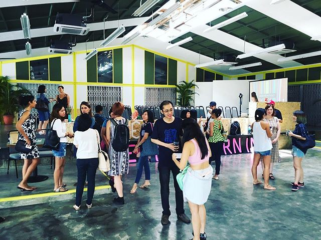 So chuffed to be soaking in the creative atmosphere at #creativemornings in KL on a Saturday morning. I'll share more on my blog soon.