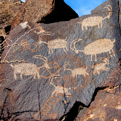 Coso Rock Art