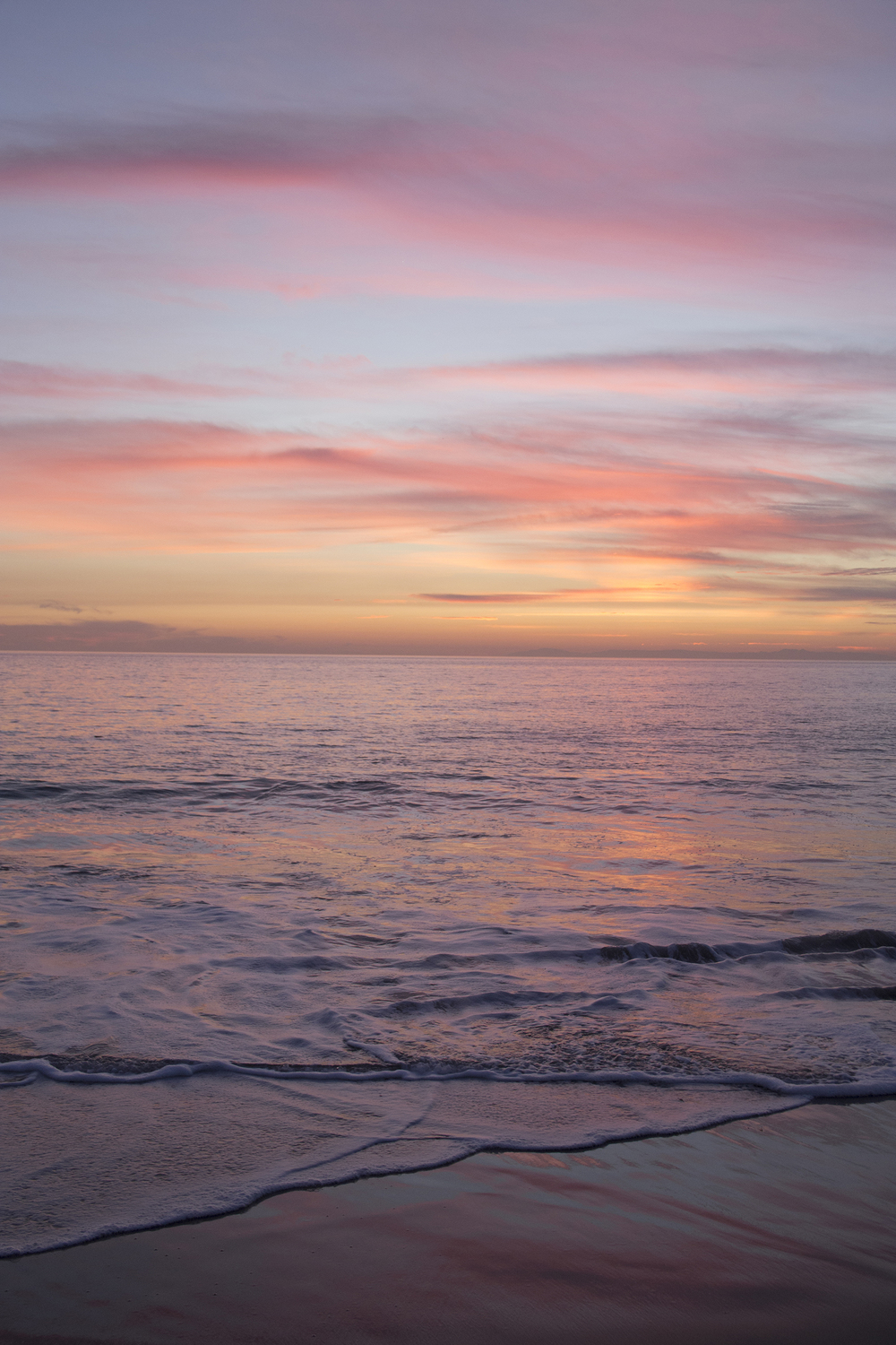 Julie Cimpko   - Living in such a beautiful place, the ocean always reminds me of the constant change of life – the tide washing away the old and bringing in the new….a way to  Refresh . (photo taken in January 2015 - Laguna Beach, CA)