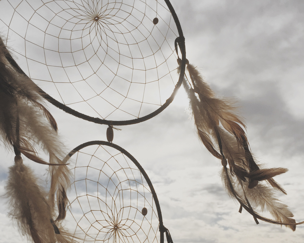 Julie Cimpko   -  Imagine  that all of your dreams can come true. (Dreamcatcher photo taken in Laguna Beach, CA)