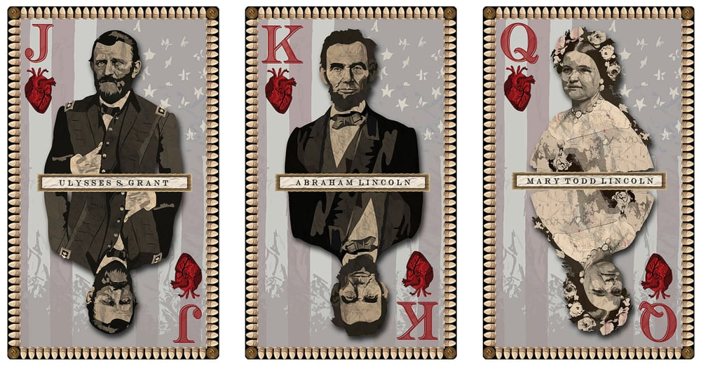 Erik Larson -   I'm inspired to complete a long-time project...my civil war themed playing cards.