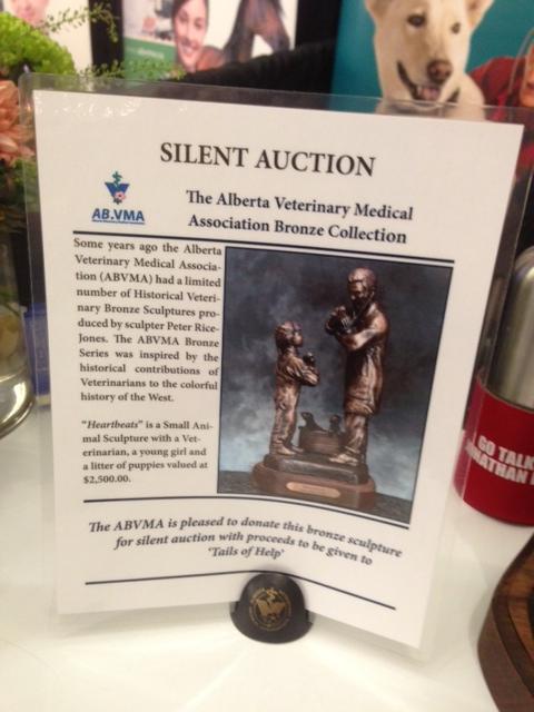 Info sheet for the Bronze Sculpture Silent Auction