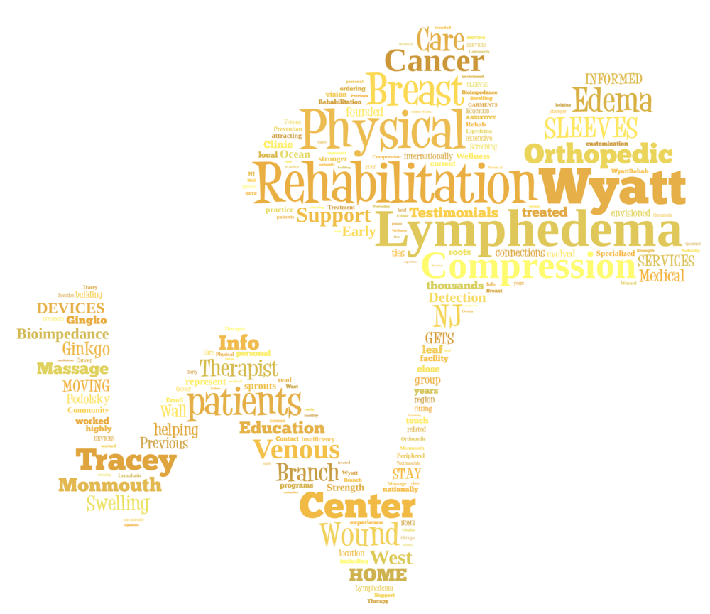 Wyatt Rehabilitation Physical Therapy and Lymphedema Treatment Ginkgo Logo