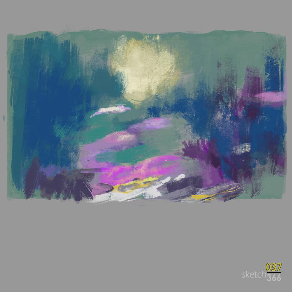 Buck Paulson - color theory - digital paint