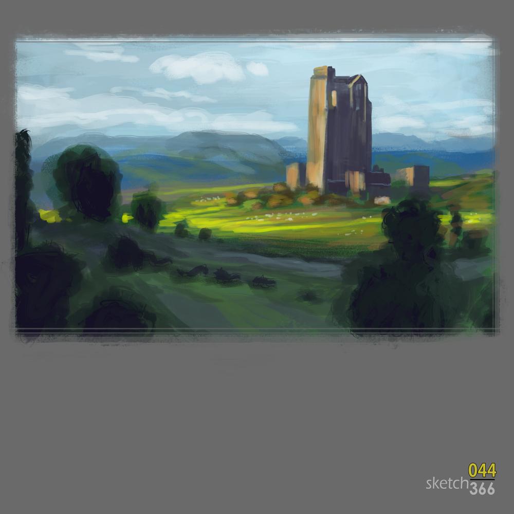 Jaime Jones Color/Composition study - digital paint