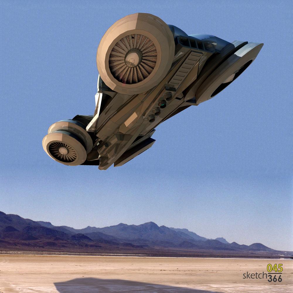 hovercraft - sketchup