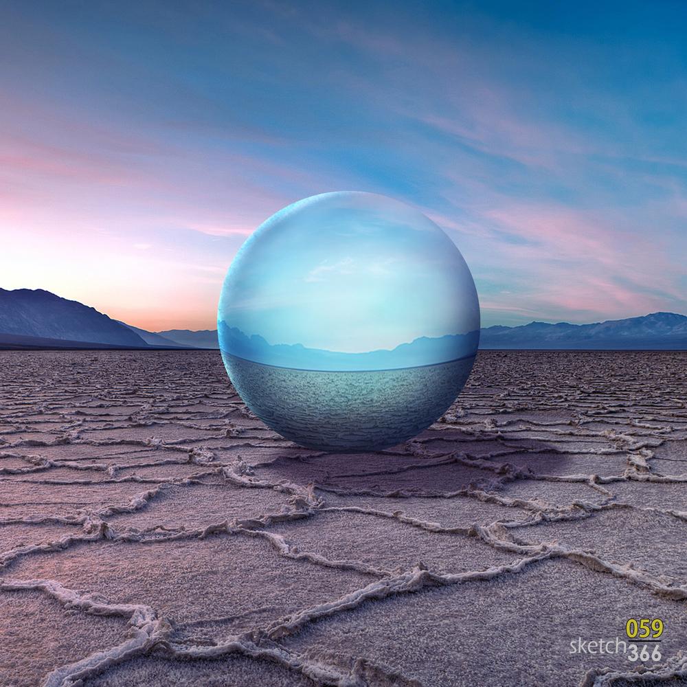 environmental reflection - digital paint